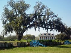Chalmette Battle Grounds, Louisiana - site of the last great Battle of the War of 1812. (French Pirate, Jean Lafitte, helped General Andrew Jackson defend New Orleans against the British in 1815.)