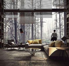 Forest room in Mexico