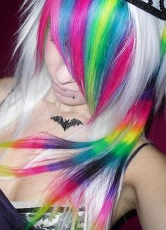 This would be awesome for my bangs, once I dye the rest black