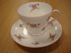 Trying to win on Ebay this lovely Shelley cup and saucer!