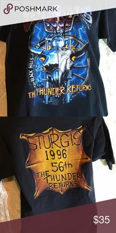 Vintage Sturgis Bike Rally Tee ✨ Excellent condition no rips or stains  Size Medium Harley-Davidson Shirts Tees - Short Sleeve