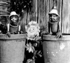 Bill and Ben, Flowerpot Men . . . and Weeeeeeeeed