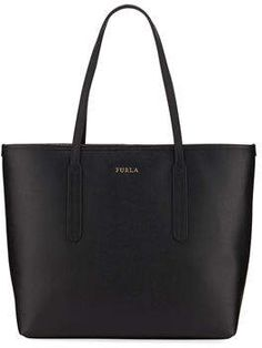 Furla Ariana Medium Leather Tote Bag