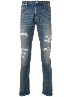 John Varvatos Slim Distressed Jeans In Blue John Varvatos, Brand You, Distressed Jeans, Shop Now, Women Wear, Skinny Jeans, Slim, Mens Fashion, Cotton