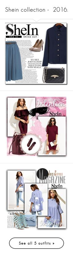 """""""Shein collection -  2016."""" by zura-b ❤ liked on Polyvore featuring WALL"""