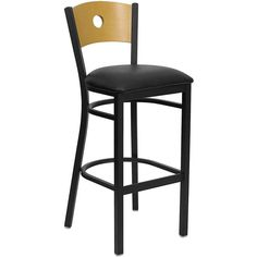 This heavy-duty commercial metal bar stool is ideal for restaurants, hotels, bars, pool halls, lounges and in the home. The lightweight design of the stool makes it easy to move around. The tubular fo