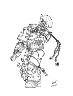 World Eaters - Kharn by Greyall on DeviantArt