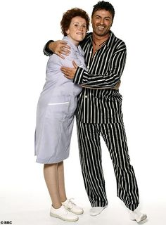 Catherine Tate and George Michael