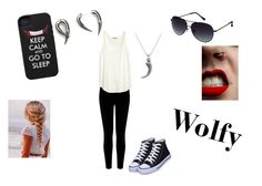 """""""For Wolfy"""" by imaginestronger ❤ liked on Polyvore featuring Warehouse, H&M, David Yurman, Kasun and Kenneth Cole Reaction"""