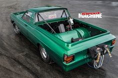 Ford -Falcon -XW-ute -rear -above Classic Hot Rod, Classic Cars, Aussie Muscle Cars, Australian Cars, Ford Falcon, Drag Cars, Twin Turbo, Ford Gt, Falcons