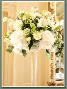Worth having a couple of big vases on the end table, back of the room? - W. Flowers - Entrances & Large Arrangements Gallery