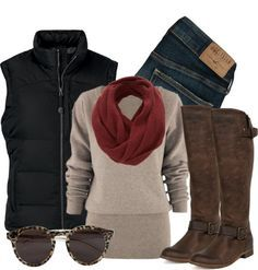 hiking chic jeans - Google Search