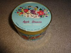 VINTAGE Lander Apple Blossom Dusting Powder NOS - Never opened  | eBay