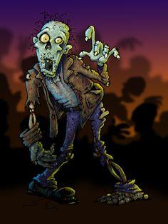 ZOMBIE! Zombie art