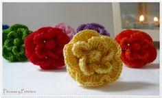 "Pitusas & Petetes: ""Crochet ring invasion"" (invasión de margaritas de crochet)"