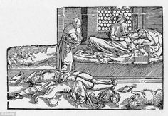 Plague: Accounts suggest the Black Death in 1348-1349 was viewed as God's punishment on the people