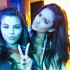 Selena Gomez and Shay Mitchell post a selfie from Dubai on Dec. 30, 2014. Instagram -Cosmopolitan.com