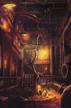 Gravity Rush - Kat's Home