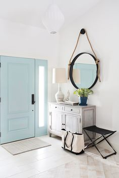 Adore Pale Aqua Door Entry ! by Lischkoff Design