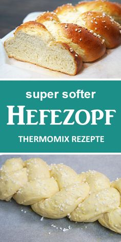 Super soft yeast braid from Grandma. Quick & easy Thermomix recipes from the witch kitchen. - This yeast braid is so soft and fluffy, if not the best. A great recipe. Whether for brunch or coff - Meatloaf Recipes, Burger Recipes, Fish Recipes, Vegetable Recipes, Great Recipes, Keto Recipes, Healthy Recipes, Breakfast Recipes, Dinner Recipes