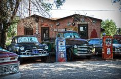 Old Cars On Route 66. By RicardMN Photography