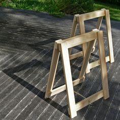 Tischböcke DIY- Anleitung in Englisch