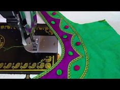 Blouse Design - YouTube Simple Blouse Designs, Saree Blouse Neck Designs, Saree Blouse Patterns, Blouse Models, New Model, Silk Sarees, Videos, Blouses, Easy