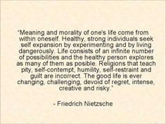 Meaning and morality of one's life come from within oneself - Friedrich Nietzsche Great Quotes, Quotes To Live By, Me Quotes, Inspirational Quotes, Wisdom Quotes, Existentialism Quotes, Philosophical Quotes, Cool Words, Wise Words