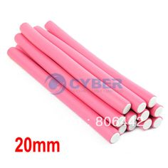 12Pcs/Lot New Hair Curler Makers Soft Foam Hair Rollers Bendy Twistee 20mm 15727 US $6.70
