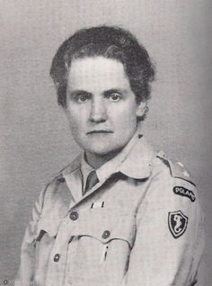 Countess Karolina Lanckorońska (1898-2002) was a Polish World War II resistance fighter, historian and art historian. As member of Polish resistance she was arrested, interrogated, tortured, tried and sentenced to death at Stanisławów prison. Thanks to her family connections, she wasn't executed but was instead sent to the Ravensbrück concentration camp. Immediately after release in 1945, she wrote her war memoirs. Source: Wikipedia.