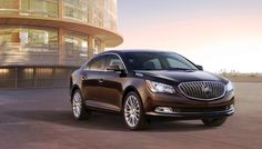 Buick today introduced the new 2014 LaCrosse, the evolution of the landmark luxury sedan that established the brand's modern sedan lineup with design leadership and technological innovation.
