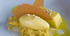 polenta custard with sweet-corn sorbet (pictured). Pastry chef ...
