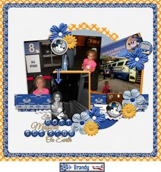 Mad for the Mouse: Have you heard? Disney Magical Express, Disney Scrapbook Pages, Bus Ride, Scrapbooks, Layouts, Mad, Disney Ideas, Create, Gallery