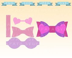 Etsy :: Your place to buy and sell all things handmade Hair Ribbons, Diy Hair Bows, Making Hair Bows, Diy Bow, Bow Template, Templates, Bow Pattern, How To Make Bows, Cupid