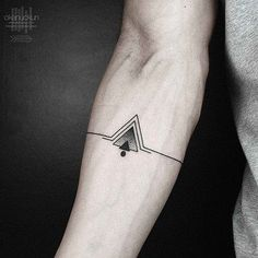 Awesome triangle tattoo