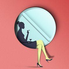 Paper-cut-woman-psd-graphics.jpg (390×390)