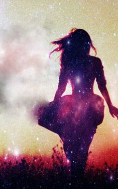 """""""She decided that the only way to live was to find a galaxy of stars within herself.."""""""