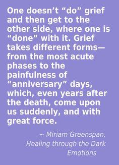 Miriam Greenspan, Healing through the Dark Emotions