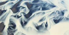 Abstract Landscapes, l'Islande photographiée du ciel par Andre Ermolaev.