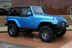 bright blue jeep - Google Search