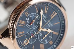 #PerfectWatch:Ulysse Nardin Marine Chronograph Annual Calendar - 30 minutes on the wrist!