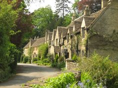 Castle Combe, Cotswolds, Wiltshire, England, by Ian Aufflick - a different view