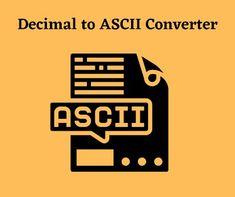 Decimal To ASCII Converter #decimal #ascii #converter #webdevelopment #javascript #nodejs #expressjs #gmail #windows #technovichar #api #number Online Converter, Decimal Number, Interesting Information, Web Development, Student, Windows, Writing, Being A Writer, Ramen