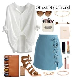 """""""Untitled #371"""" by savkcollins ❤ liked on Polyvore featuring Dolce Vita, Chicwish, Rebecca Minkoff, Michael Kors and Chanel"""