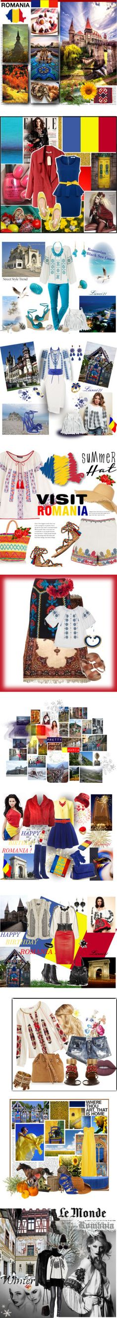 ROMANIA - my country! by kumi-chan on Polyvore featuring art, country, China Glaze, Glamorous, Cacharel, Rip Curl, Star Mela, Kate Spade, Ippolita and Ten Thousand Things