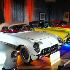 Antique cars on display at Driehaus Design Initiative event. #chicago