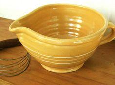 Yellowware Batter Bowl