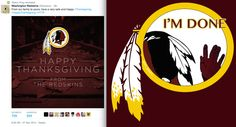Dan Snyder clearly doesn't understand the concept of irony...or basic human decency. #ChangeTheName #NotYourMascot