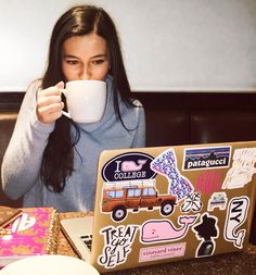 MadEDesigns is an independent artist creating amazing designs for great products such as t-shirts, stickers, posters, and phone cases. Preppy Stickers, Cute Laptop Stickers, Macbook Stickers, Macbook Decal, Mac Stickers, Macbook Case, Laptop Case, Macbook Pro, Preppy Southern