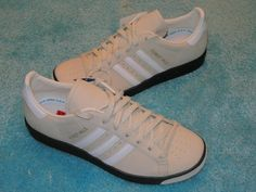 adidas Originals FOREST HILLS White Sneakers sz 3 Boys